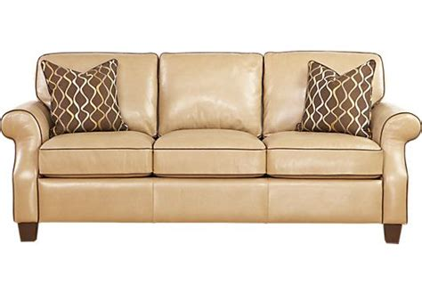 rooms to go leather sofa and loveseat shop for a cindy crawford home leather maravilla sofa at