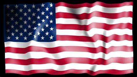 Animated American Flag Wallpaper - waving usa flag animation motion background videoblocks