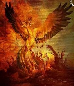Phoenix Rising ... Phoenix Bird Tattoo Quotes