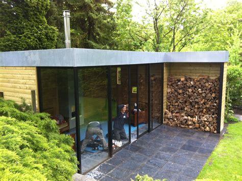 tuinhuis met open haard overkapping ontwerpen en maken van een tuinhuis met