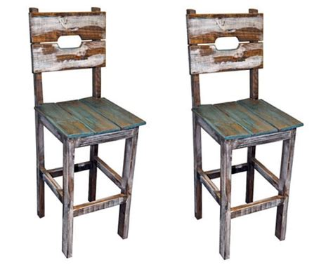 white slipcovered dining chairs qty 2 30 quot slatted wood bar stools wood rustic