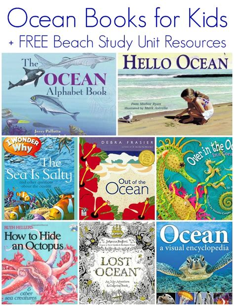 books for free study unit resources 519 | Ocean books for kids