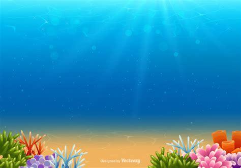 underwater vector background   vectors