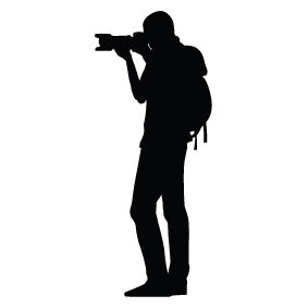 photographer silhouette silhouette of photographer