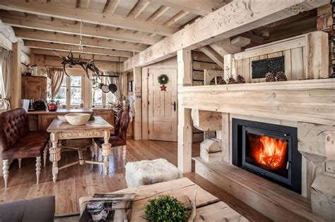 cozy stylish mountain chalets adorable home