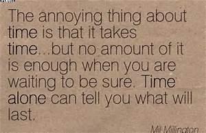 No Amount Of Mo... Mil Millington Quotes