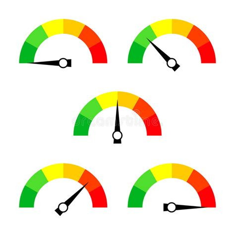 speedometer icon  sign  arrow collection