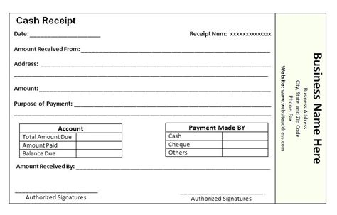 fee receipt format comfortable tuition receipt template gallery resume
