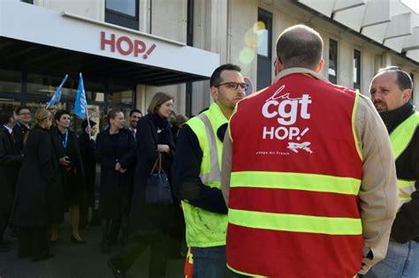 siege de la cgt grève hop annulations de vols et salariés mobilisés chez