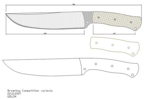 ¿buscando comprar un cuchillo puntilla? Les dejo una pequeña colección de plantillas o moldes para ...