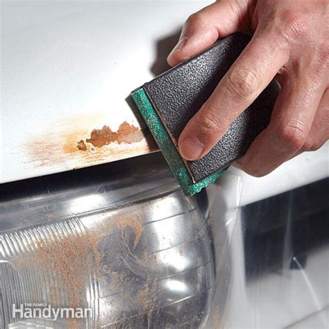 How To Repair Rust On A Car  The Family Handyman