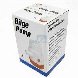 12v 4700gph Bilge Pump Marine Boat Submersible Water Pump
