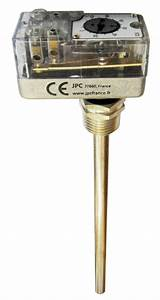Manual Reset Rod Thermostat  Dpst And Spdt