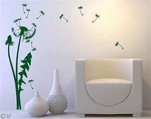 Wandtattoo Pusteblume Weiß : wandtattoo pusteblume gras l wenzahn ~ Frokenaadalensverden.com Haus und Dekorationen