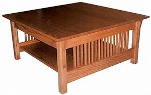 Amish prairie mission square coffee table 18 inches high x for 36 inch square coffee table