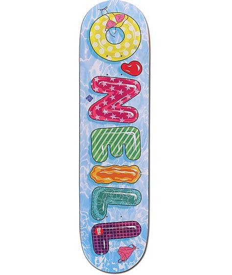 skate mental decks 80 skate mental oneill pool toys 8 0 quot skateboard deck zumiez