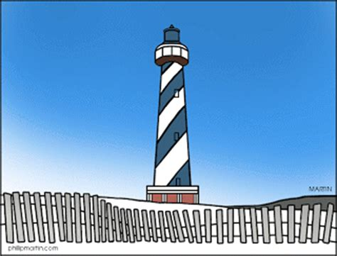 Cape hatteras lighthouse clipart - Clipground
