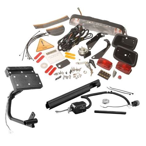 deluxe light kit with turn signal and brake light for gas txt