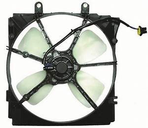 Engine Cooling Fan Assembly Fits Mazda 626