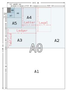 how big is letter size paper paper size 51224