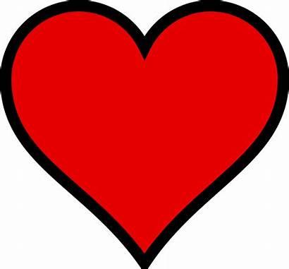 Hearts Clipart Valentine Heart Outline Valentines Cartoon