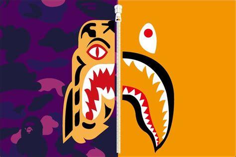 Tiger BAPE Shark Logo LogoDix