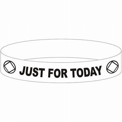 Na Today Anonymous Narcotics Slogan Recovery Wristbands