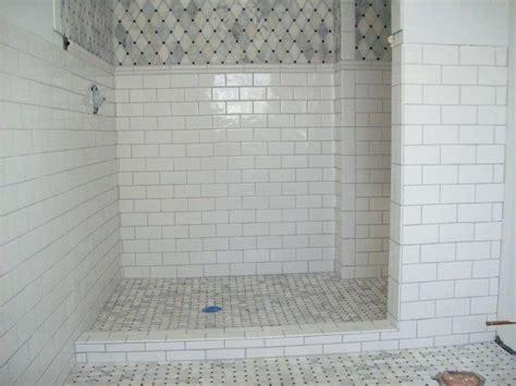 carrara marble subway tile bathroom peenmedia