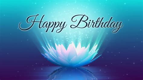 Happy Birthday Animated Wallpaper - happy birthday lotus animation motion graphics