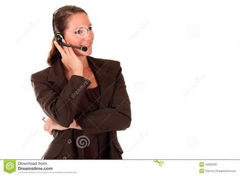 fda eric help desk help desk woman communicating royalty free stock photo