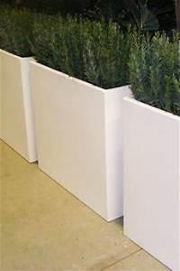 Bac A Fleur En Beton Rectangulaire : jardini res en aluminium bac rectangulaire haut artiplant ~ Edinachiropracticcenter.com Idées de Décoration