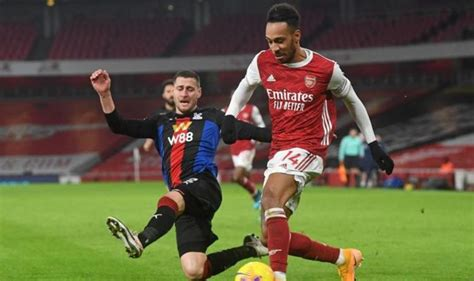 Arsenal player ratings vs Crystal Palace: Aubameyang and ...