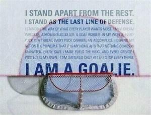 Goalie Developm... Ice Ball Quotes