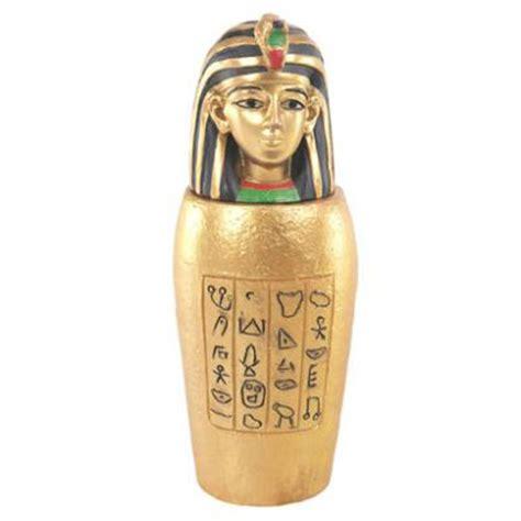 canap ik decorative gold canopic jar trinket box 5995
