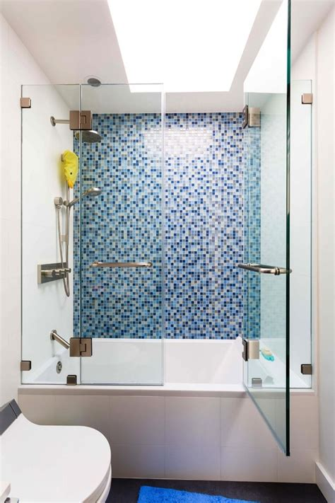 modernly awesome glass doors  bathtub   stunned