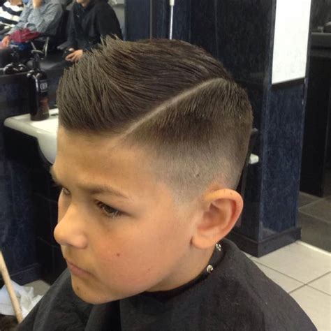 Boys Hairstyles On Top by 31 Cutest Boys Haircuts For 2018 Fades Pomps Lines More
