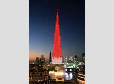 Burj Khalifa salutes the leadership and people of Qatar