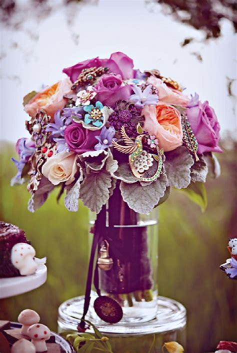 25 Best Ideas About Purple Brooch Bouquet On Pinterest