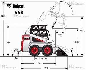 Bobcat 553 - Bobcat - Machinery Specifications - Machinery