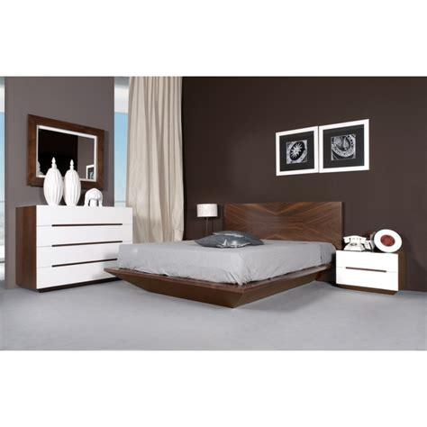 chambre bois chambre à coucher design pour adulte en merisier ou chêne