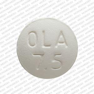 apo ola  pill images white