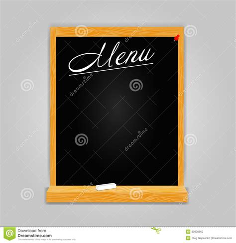 cuisine style bistro restaurant menu template in retro style vector stock photo