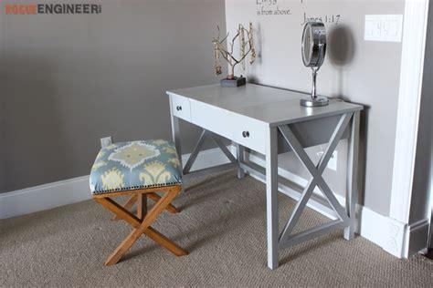 Diy Vanity Table Plans by Flip Top Vanity Free Diy Plans Rogue Engineer