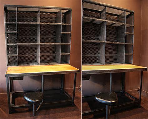mobilier bureau industriel design industriel mobilier industriel meuble industriel