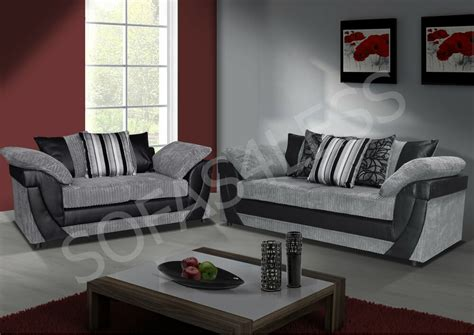 Cheap Two Seater Sofa by Sale New Lush 3 2 Seater Sofa Faux Leather Fabric
