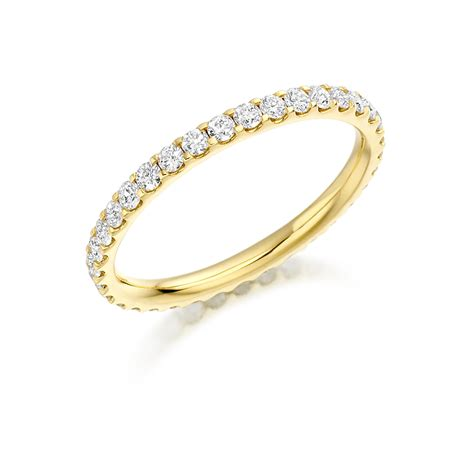 gold princess cut engagement rings yellow gold scallop set band fet 1022y 01