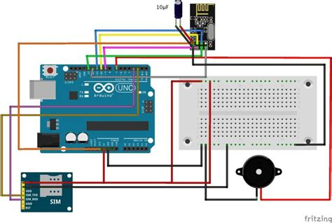 build  gsm cellular panic alarm   arduino