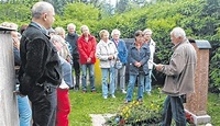 Eine Führung über den Bergfriedhof