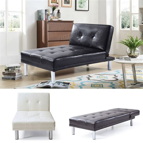 single settee bed foxhunter chaise longue single sofa bed 1 seater