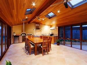 indoor outdoor outdoor living design with bbq area With outdoor entertaining area lighting ideas